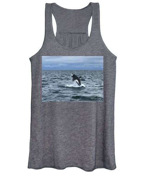 Leaping Orca Women's Tank Top