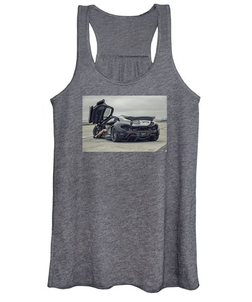 #mclaren #mso #p1 #wheels And #heels Women's Tank Top