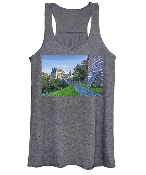 Leiden, The Church And The Castle Women's Tank Top