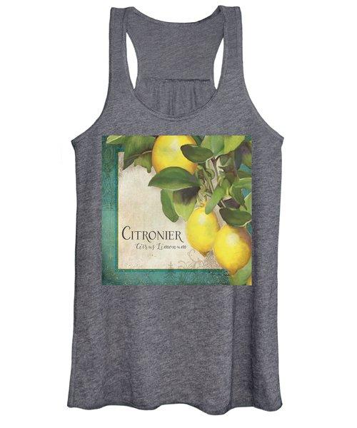 Lemon Tree - Citronier Citrus Limonum Women's Tank Top