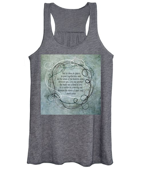 Let There Be Spaces Women's Tank Top