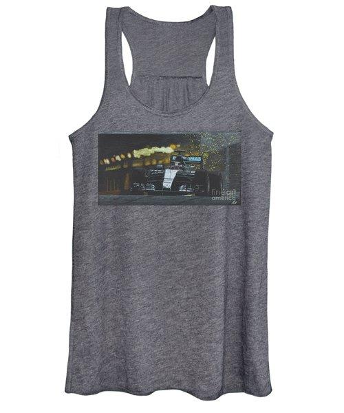Lewis Hamilton Mercedes  Victory At Montecarlo 2016 Women's Tank Top