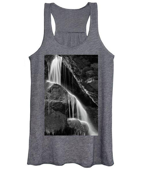 Lichtenhain Waterfall - Bw Version Women's Tank Top
