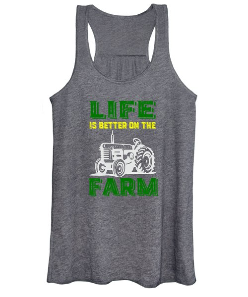 Life Is Better On The Farm Tee Women's Tank Top
