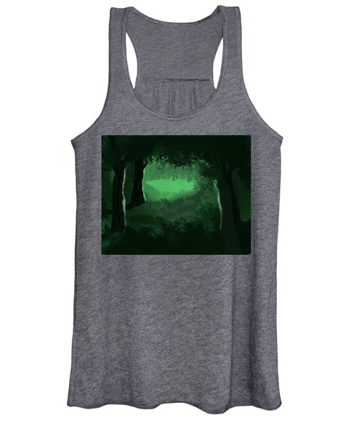 Light In The Forest Women's Tank Top