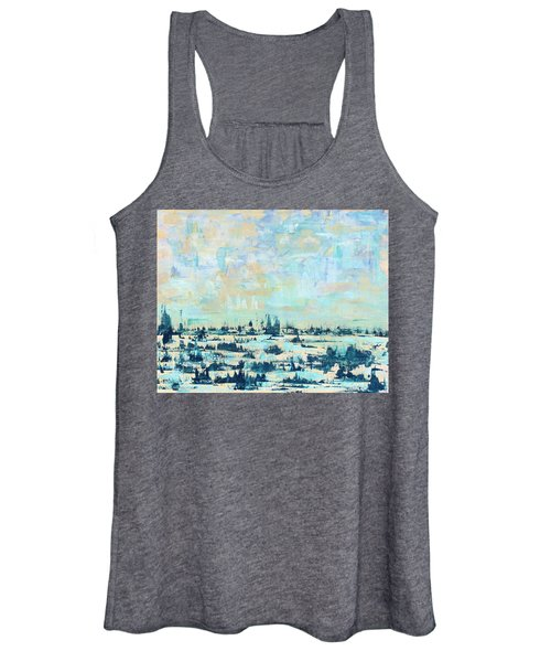 Light Over Broad Creek Women's Tank Top