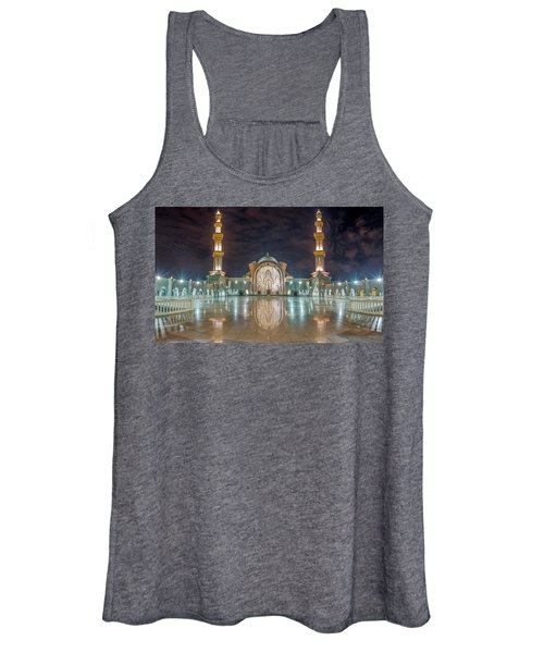Lighted Federal Territory Mosque  Women's Tank Top