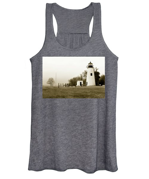 Lighthouse At Turkey Point Women's Tank Top