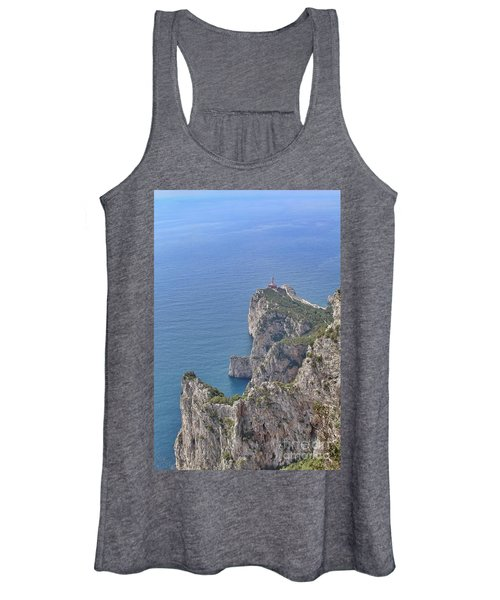 Lighthouse On The Cliff Women's Tank Top