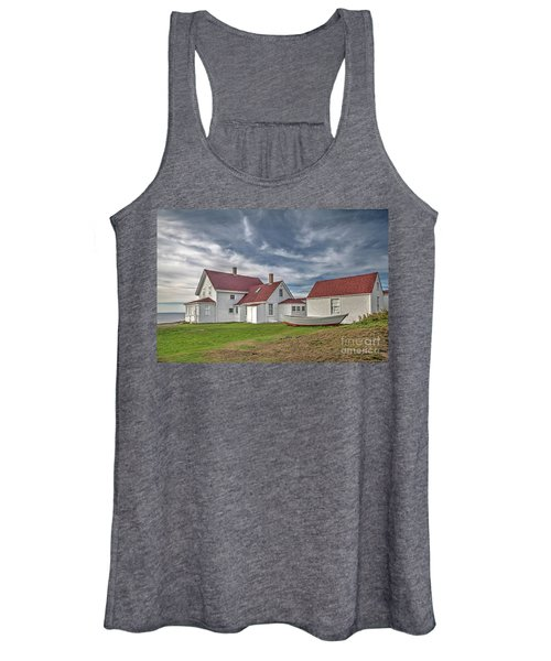 Keepers House At The Monheagn Lighthouse Women's Tank Top
