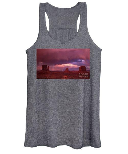 Lightning And Rainbow Women's Tank Top