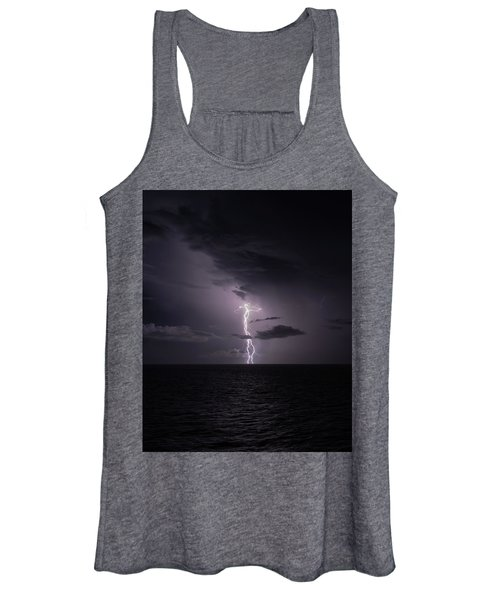 Lightning At Sea I Women's Tank Top