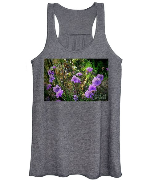 Lilac Carved Jellytot Women's Tank Top