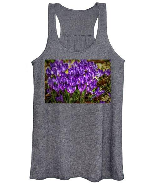 Lilac Crocus #g2 Women's Tank Top