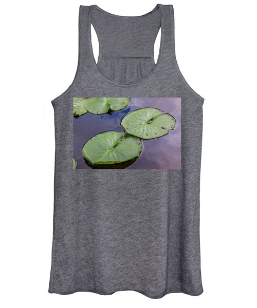 Lily Pad Reflections Women's Tank Top