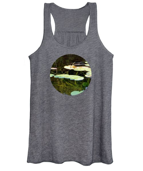 Lily Pads On The Lake Women's Tank Top
