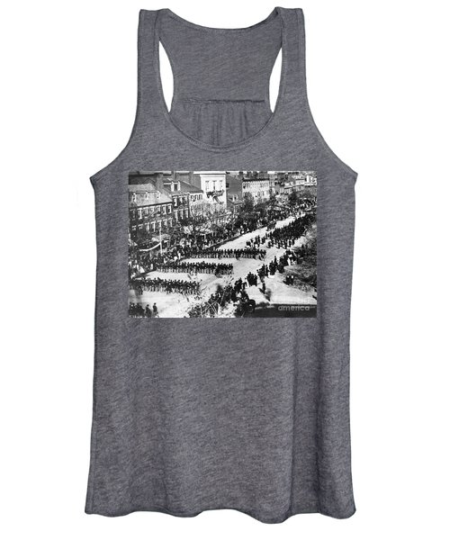 Lincolns Funeral Procession, 1865 Women's Tank Top