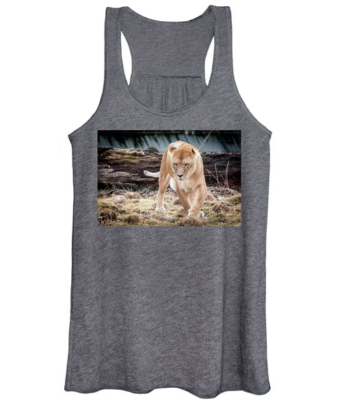 Lion Eyes Women's Tank Top