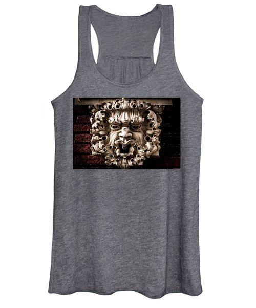 Lion Head Women's Tank Top