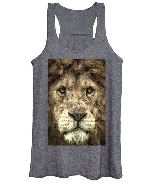 Lion Portrait Women's Tank Top