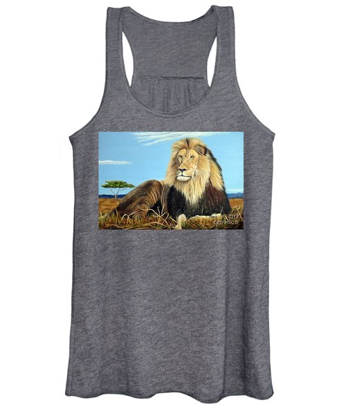 Lions Pride Women's Tank Top