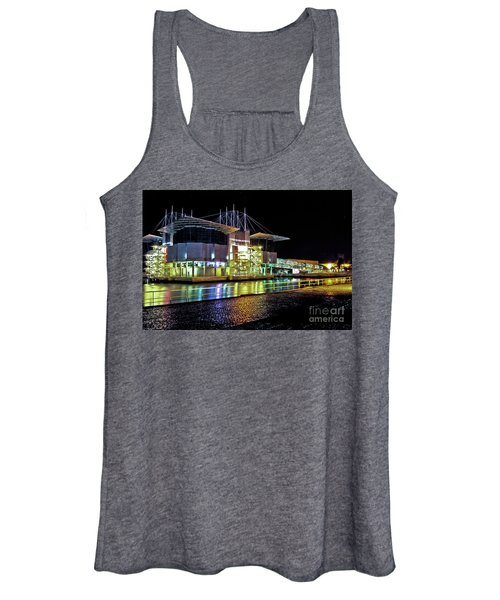 Lisbon - Portugal - Oceanarium At Night Women's Tank Top