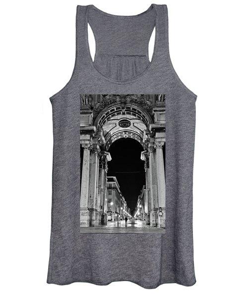 Lisbon - Portugal - Triumphal Arch - Rua Augusta Women's Tank Top