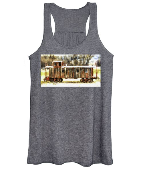Little Red Caboose  Women's Tank Top
