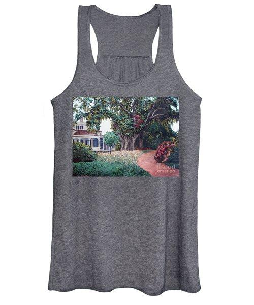 Live Oak Gardens Jefferson Island La Women's Tank Top