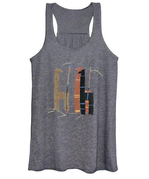 Llamas T Shirt Design Women's Tank Top
