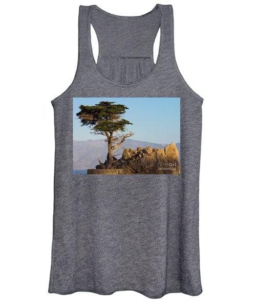 Lone Cypress Tree  Women's Tank Top