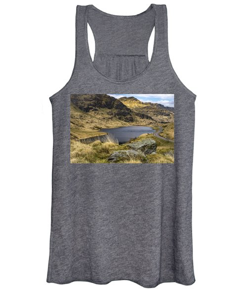 Loch Restil From Rest And Be Thankful Women's Tank Top