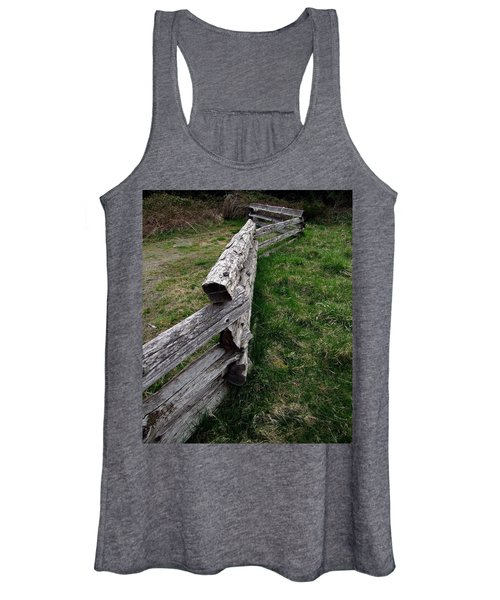 Log Fence Women's Tank Top