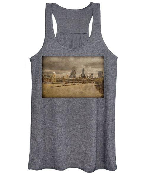 London, England - London Skyline East Women's Tank Top