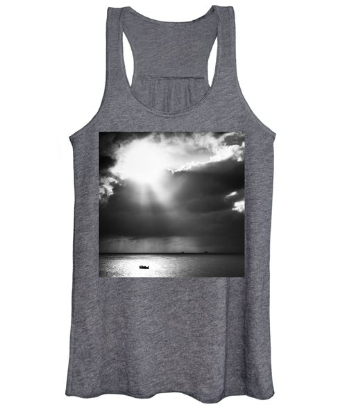 Lonely At Sea Women's Tank Top