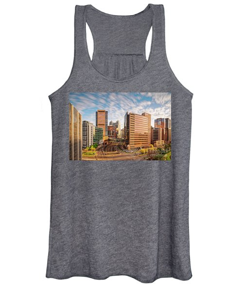 Long Exposure View Of The Texas Medical Center Houston Harris County - Southeast Texas Women's Tank Top