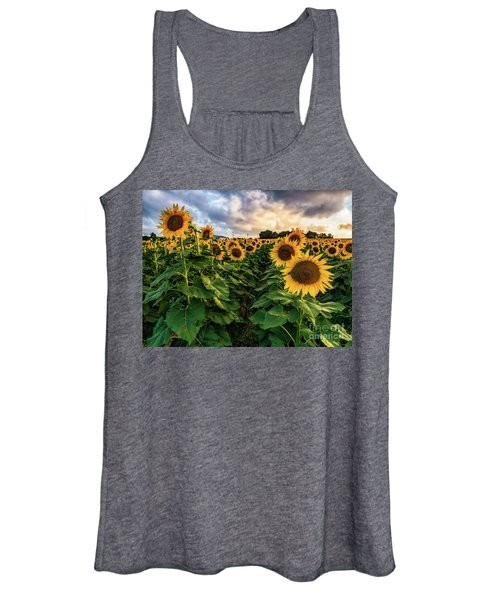 Long Island Sunflowers  Women's Tank Top