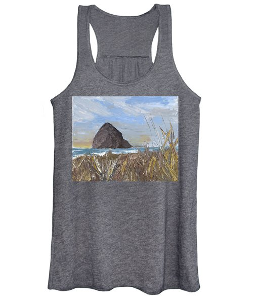 Longing For The Sounds Of Haystack Rock Women's Tank Top