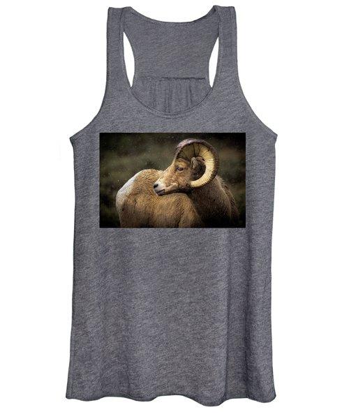 Looking Back - Bighorn Sheep Women's Tank Top