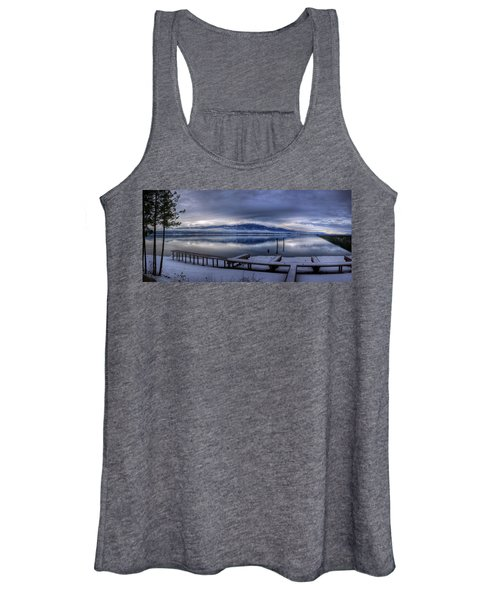 Looking North From 41 South Women's Tank Top