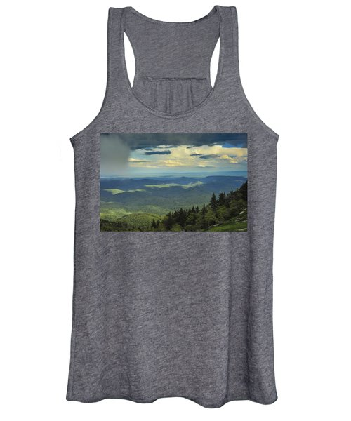 Looking Over The Valley Women's Tank Top