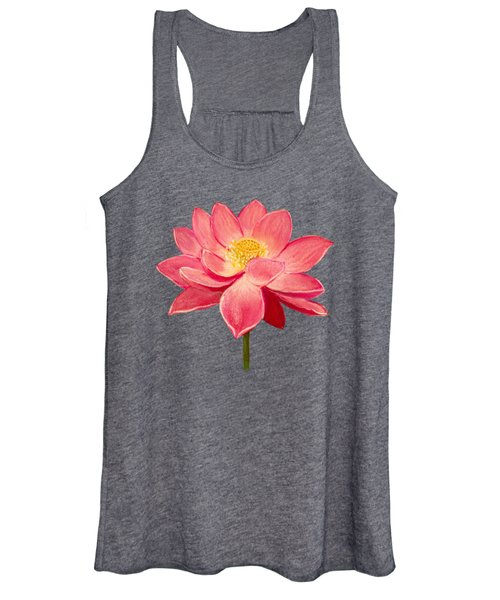 Lotus Flower Women's Tank Top