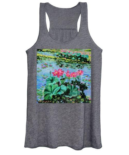 Lotus Women's Tank Top