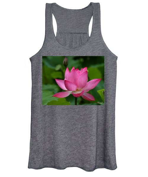 Lotus--shades Of Past And Future Dl029 Women's Tank Top