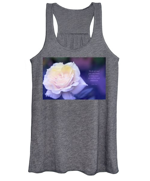 Love And Compassion Women's Tank Top