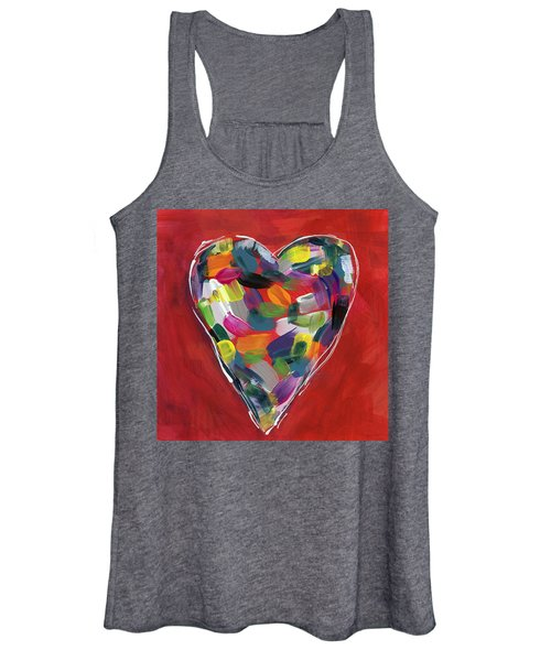 Love Is Colorful - Art By Linda Woods Women's Tank Top