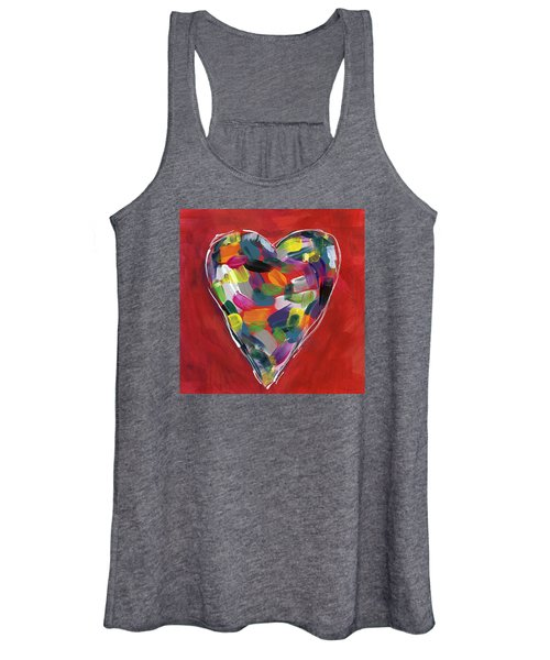 Love Is Colorful - Art By Linda Woods Women's Tank Top