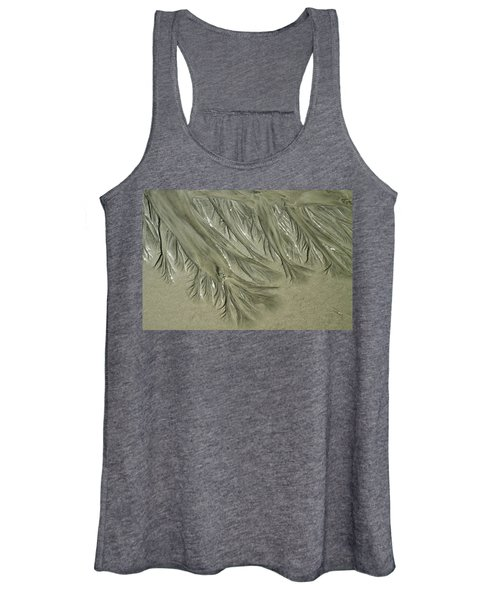 Low Tide Abstracts Iv Women's Tank Top