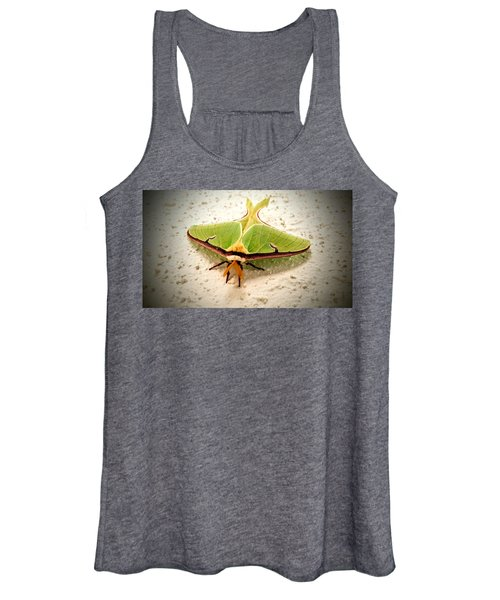 Luna Moth Women's Tank Top