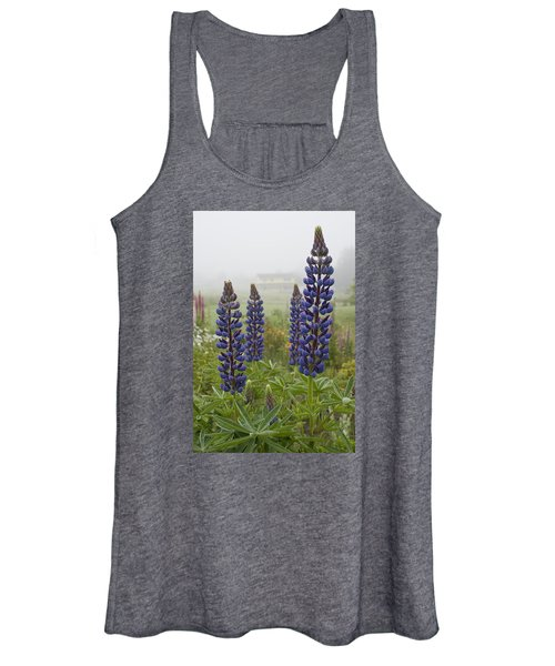 Lupine In The Fog Women's Tank Top